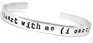 Best i carry your heart with me bracelet Reviews