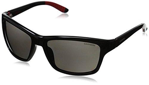 CARRERA CARRERA 8013/S Sonnenbrille 8013/S Rechteckig Sonnenbrille 58, Schwarz