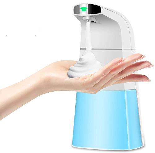 Alberta Dispenser Sapone Automatico Erogatore Gel Mani Sapone Liquido Bagno Rilevatore Rapido Sensore di Movimento Tecnologia Schiuma Espansa Vortice