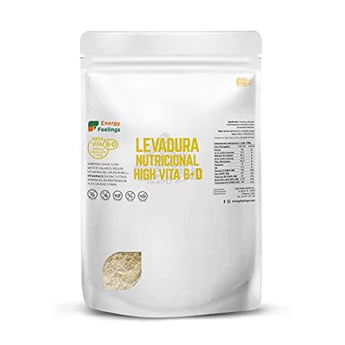 Energy Feelings Levadura Nutricional High Vita D Copos (1 kg)