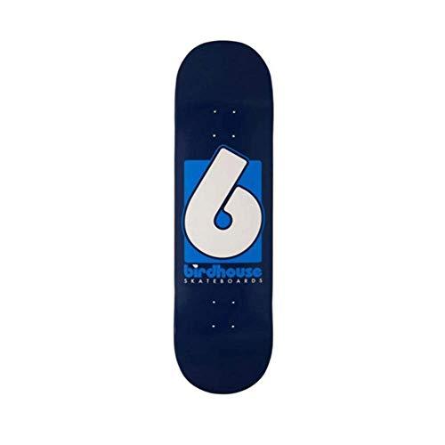BIRDHOUSE Skateboard-Brett / Deck, 21,6 cm, Weiß