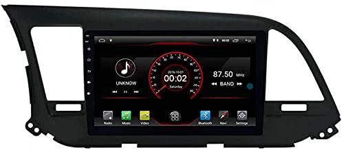 WJYCGFKJ Android 10 Lettore Dvd per Auto GPS Stereo Head Unit Navi Radio Multimedia WiFi per Hyundai Elantra Avante 2016 2017 2018 Supporto per Il Controllo del Volante