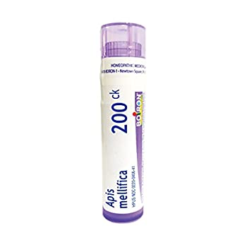 Boiron Apis Mellifica 200CK 80 Pellets Homeopathic Medicine for Insect Bites