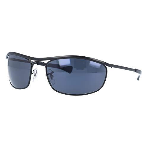 Ray-Ban RB3119 9161R5 62 Negro Azul Clásico 62mm OLYMPIAN Gafas de sol