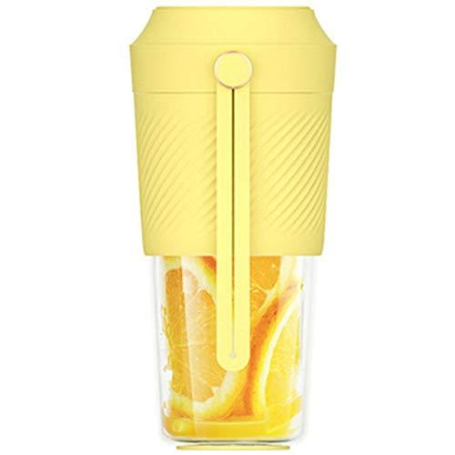 CUJUX Best Sell Electric Juicer Electrical Portable Mini Fruit Vegetable Orange Juice Blender Cup For Girl Outdoor (Color : A)