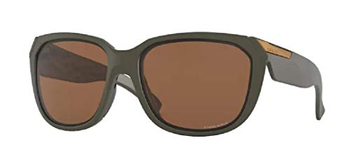 Oakley Rev Up OO9432 943204 59M Matte Olive/Prizm Tungsten Sunglasses For Women+BUNDLE with Oakley Accessory Leash Kit