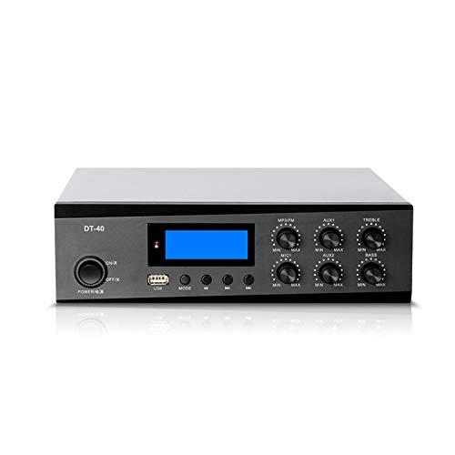 BLLXMX Amplificador Receptor Estéreo Amp Amplificadores De Potencia De Amplificador Digital De Alta Fidelidad Estéreo De 40 W con Salida De Subwoofer