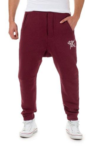 VSCT Clubwear Herren Trainingshosen Arkleg Crotch, Oxblood, L