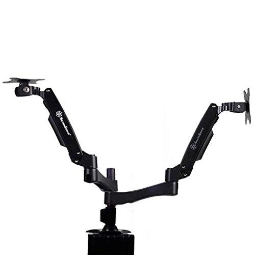SilverStone SST-ARM22BC - Montaje dos brazos monitor
