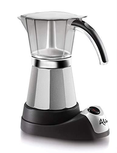 DELONGHI EMK6 Espresso, 6 cups, Stainless Steel (Renewed)
