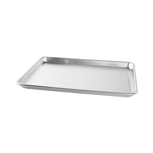 Bakers Commercial Half Baking Sheets (Pack of 2) by Nordic Ware, 16.25'L x 11.25'W 1' H