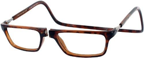 Clic Magnetic Executive Reading Glasses, Tortoise, 2.00