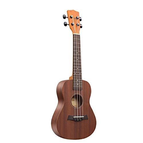 KEPOHK Ukelele de 26 pulgadas 4 cuerdas de alta calidad Mini guitarra de actuación en escenario instrumento musical Beginne 26 pulgadas UK2672