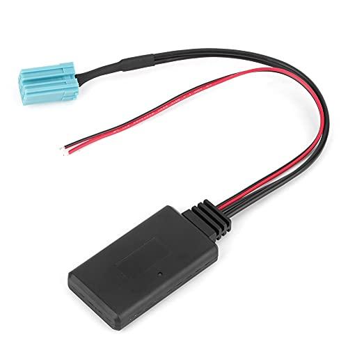 6-alfiler Auxiliar Adaptador Cable, Auricular Estéreo Cable con Abdominales y Metal
