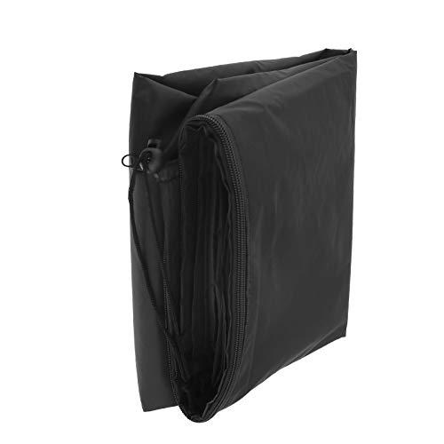 BIYM Housse de Parasol imperméable Noire, 280 cm, de Parapluie Cantilever avec Sac de Rangement zippé en Tissu Oxford Respirant,très Grande,