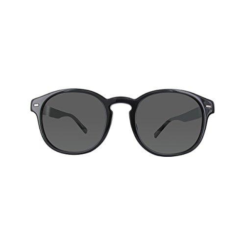 Ermenegildo Zegna Sonnenbrille EZ0029-F Gafas de sol, Negro (Schwarz), 53.0 para Hombre