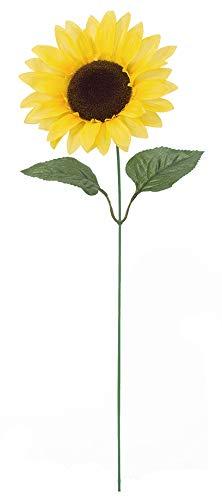 《光触媒》ヒマワリ(FLS5322HI)[ひまわり ヒマワリ 向日葵 枝 サンフラワー 造花 アートフラワー スプレイ 光触媒]