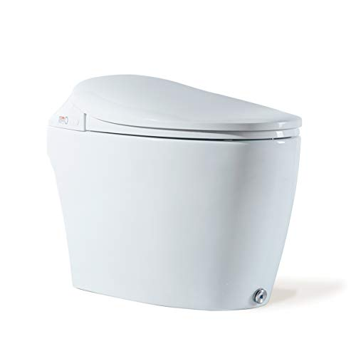 Dyconn Faucet Bono N60ZA Tankless All in One Combo Bidet & Smart Toilet, White