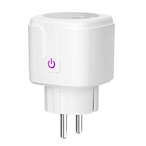 Wifi Contactdoos, 4000W Smart Socket Compatibel Met Amazon Alexa Google Startpagina IFTTT, No Hub Nodig Is, Kan Worden Gecontroleerd Door APP