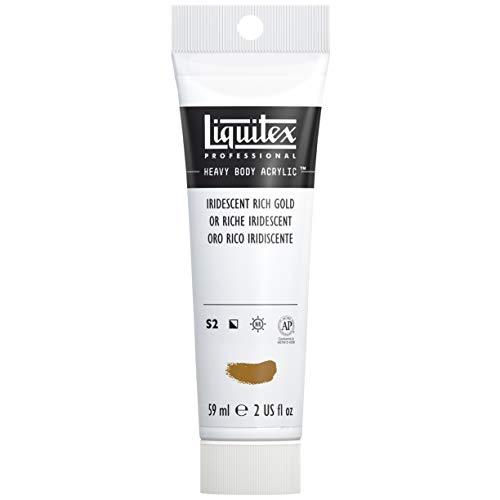 Liquitex Professional Acrylique Heavy Body 59 ml Or Riche Iridescent Série 2A