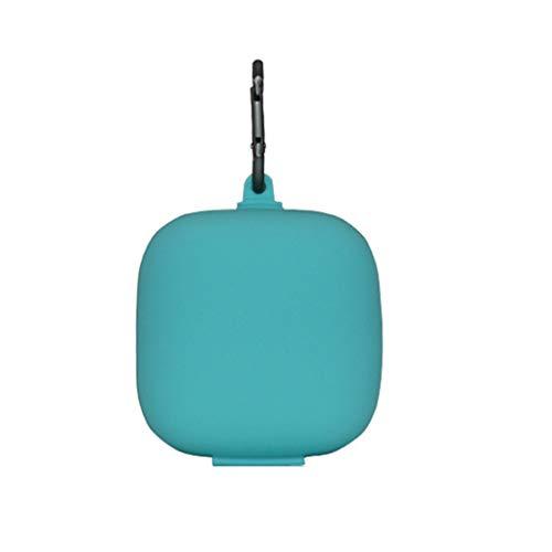 Siwetg Anti-kras Soft Silicone Storage Bag Portable portemonnee voor Powerbeats Pro hoofdtelefoon Bluetooth volledig draadloos