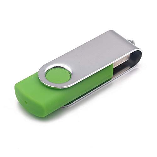 Unidad flash USB USB USB 2.0 almacenamiento de memoria U disco caramelo color para PC ordenadores portátiles (tamaño: 16 GB; color: verde)