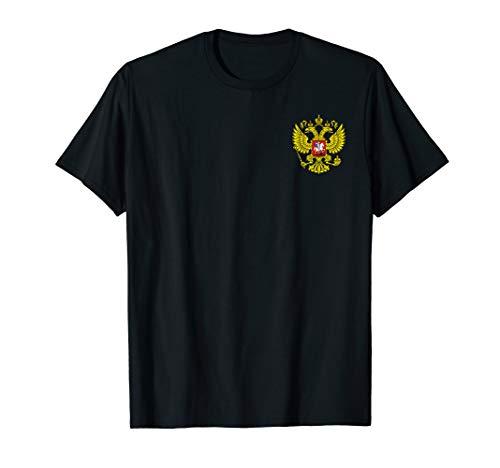 Russland Trikot Flagge Adler Wappen CCCP Sowjetunion Russia T-Shirt