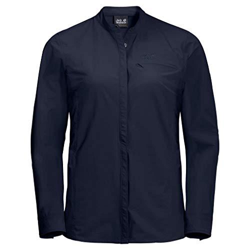 Jack Wolfskin Hilltop Trail Shirt Femmes, Midnight Blue, L