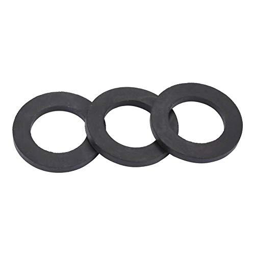 12 stücke Flache Gummi Unterlegscheiben Gummi O-Ring Dichtungen Wasser Rohrverbinder Ersatz für Wasserhähne und Duschkopf(3/4 Zoll)