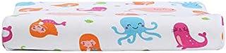 YYBF Almohada para niños de 2-8 años de Edad Almohada de látex Recuerdo Transpirable Goma de Goma núcleo Sirena