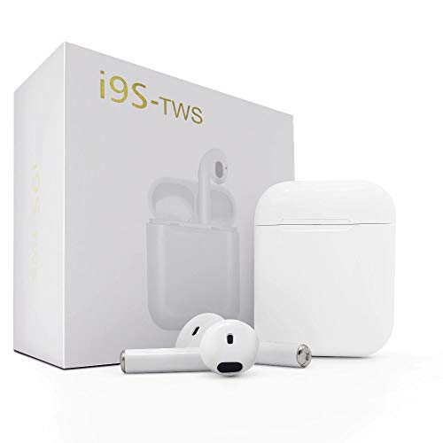 Wireless Earbuds i9s TWS 5.0 Bluetooth Earbuds Stereo Bass Ear Buds Headphones with Mic Bluetooth Earphones with Charging Case