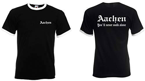 world-of-shirt / Aachen Herren Retro Fan Ultras