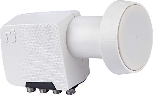 Inverto Quad Home Pro Universal - 4 Teilnehmer (LTE-Filter, 4K Ultra HD, digital, 3D,) 40mm