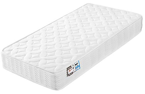 Costoffs Single Mattress 3ft Pocket Spring Sprung Foam Mattress with 3D Breathable Knitting Fabric and 9 Zone Support System,Orthopedic Mattress,Medium Firm Feel,20cm Height