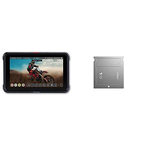 Atomos Ninja V 5 Zoll 4K HDMI Recorder Angelbird Atom X SSDMINI 500 GB SSD Festplatte fur Atomos