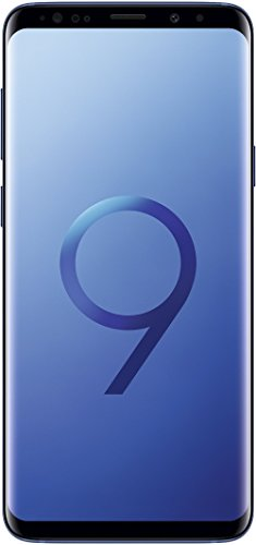 Samsung Galaxy S9+ Smartphone (6,2 Zoll Touch-Display, 64GB interner Speicher, Android, Dual Sim) Coral Blue – Internationale Versionen (Generalüberholt)