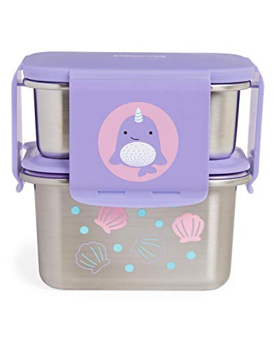 Lowest Price! Skip Hop Zoo Stainless Steel Lunch Kit - Narwhal