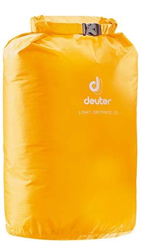 Deuter Light Drypack Sac à vêtements Mixte Adulte, Sun, 45 x 26 cm, 25 L