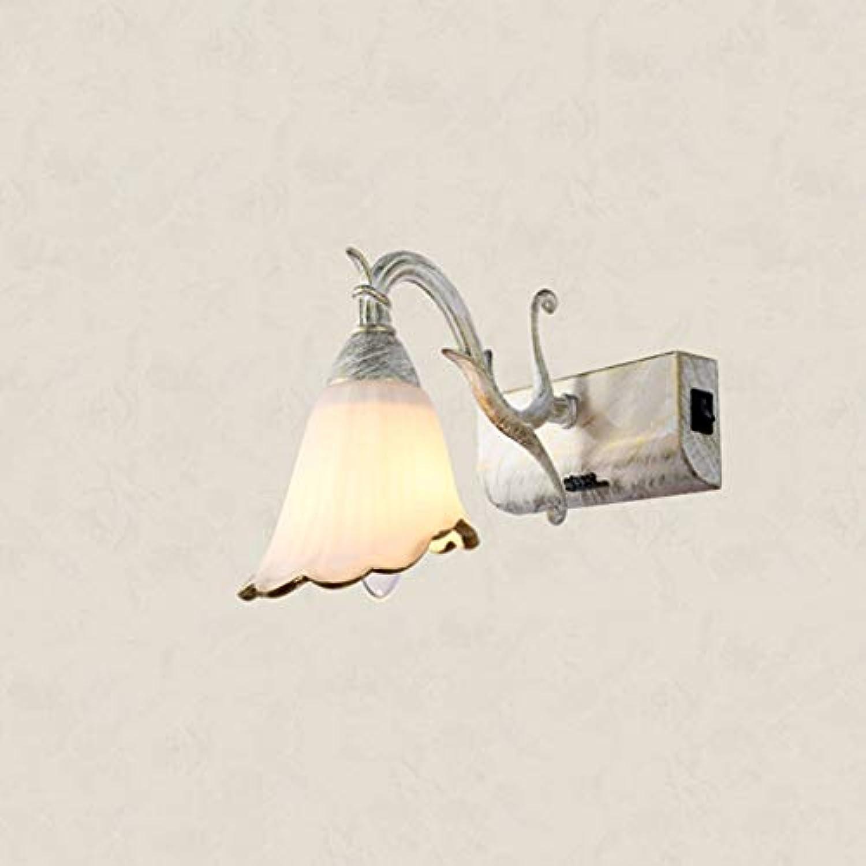 ZTMN Europische Spiegelfrontleuchte Led Badezimmerschrank Wc Lichter Moderne Schlafzimmerlampen (Farbe  Wei-46cm)