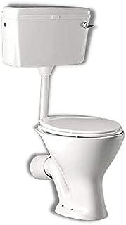 Preks Bathroom Floor Mounted EWC Toilet With Flush Tank (P-Trap)