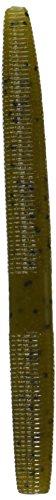 Yamamoto 9S-10-297 Senko, 4-Inch, 10-Pack, Green PUM-Packin W/Black