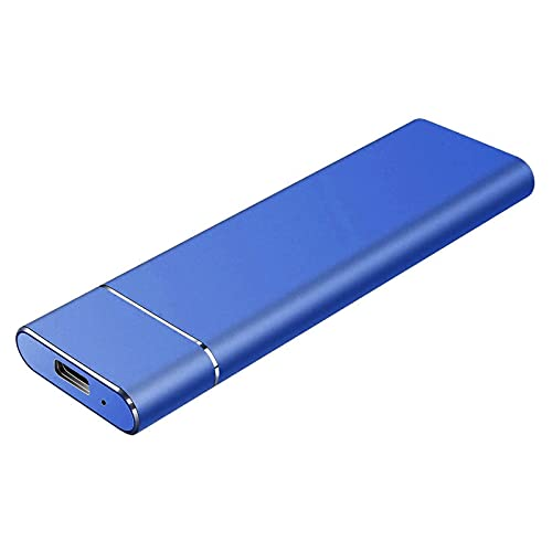 Disco duro externo 500 G/1 TB/2 TB/4 TB, disco duro portátil ultrafino SSD para PC, Mac, ordenadores de sobremesa, ordenadores portátiles y consolas