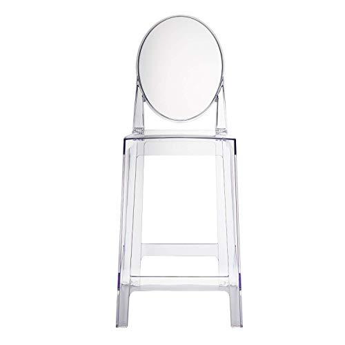 Silla De La Barra del Respaldo Nordic Light Simple Modern Luxury Fashion Ins Net Red Ghost Taburete