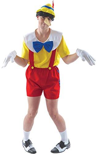 ORION COSTUMES Disfraz de Pinocho Títere de Película para Hombres