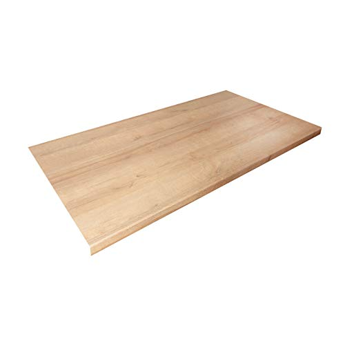 WORKTOPEXPRESS Küchenarbeitsplatte Eiche, Holzoptik, Westag & Getalit Küchenarbeitsplatten (3000mm x 600mm x 39mm)