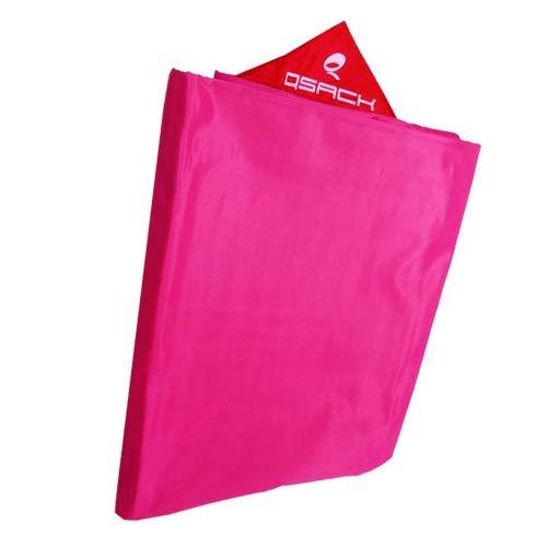 QSack Outdoorer Kindersitzsack Hülle ohne Füllung, Wechsel Bezug Kinder Sitzsack Outdoor 100 x 140 cm, Neu (pink)