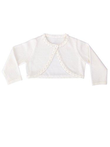 Heritage Valentina Taufkleid für Mädchen, 12 bis 18 Monate, Antikweiß