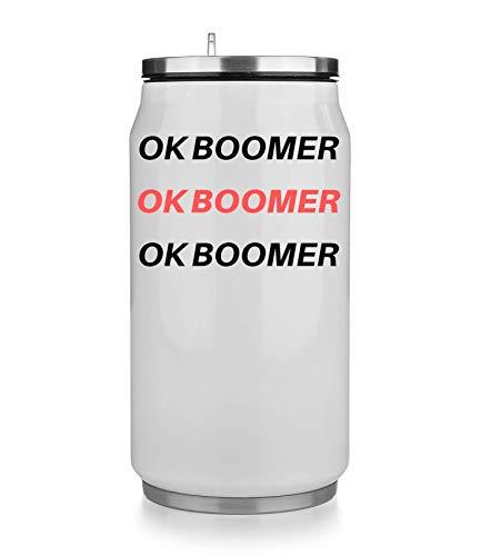 NoMoreFamous Ok Boomer Ok Boomer Mug Taza Termo Vaso Termico Coffee Thermo