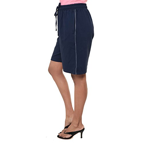 EASY 2 WEAR ® Womens Knitted Shorts (Size S to 4XL) (Small)