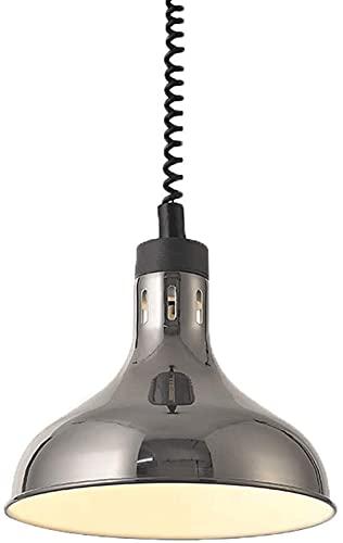 NYZXH Lámpara de calor para el hogar comercial Calentador de alimentos Buffet Buffet Luz de la barbacoa para los restaurantes de la Universidad University Canteen Regalo 250W Bombilla de calefacción C